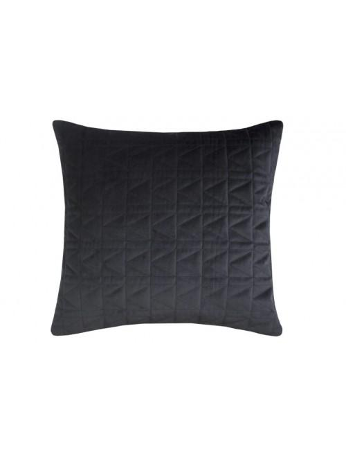 Karl Lagerfeld Quilted K Cushion Black