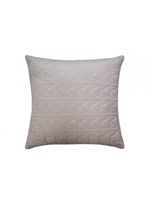 Karl Lagerfeld Quilted K Cushion Nude
