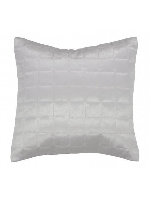 Holly Willoughby Quilted Squares Cushion Silver