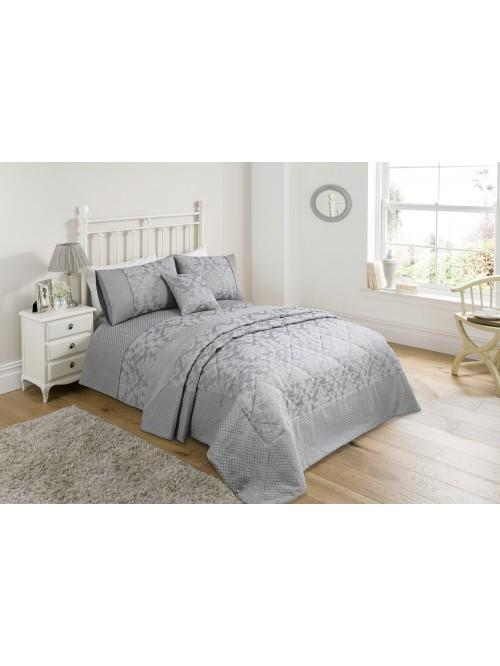 Regal Damask Bedding Collection Grey