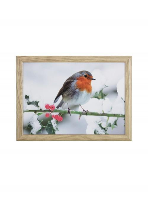 Robin Photographic Lap Tray Natural