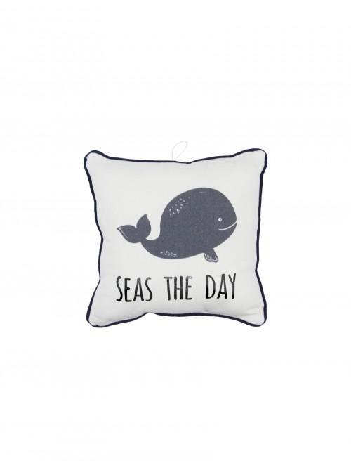 Whale Mini Cushion Multi