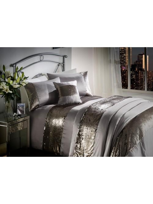 Sequin Border Bedding Collection Truffle