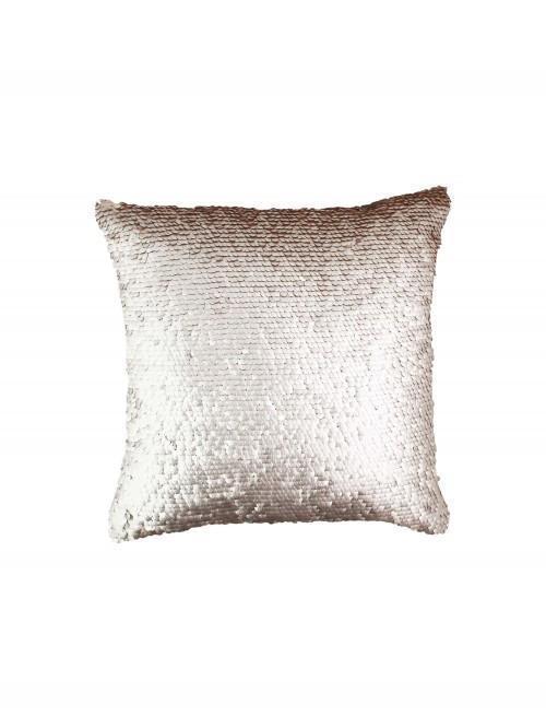 Matt Gold Sequin Cushion