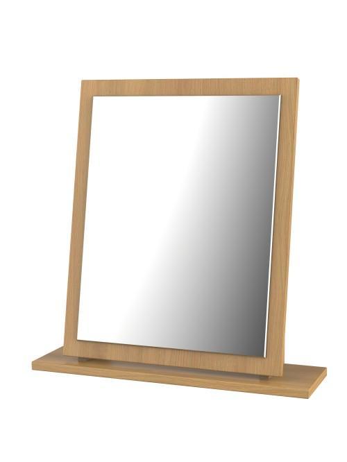 Madison Small Mirror Modern Oak Effect
