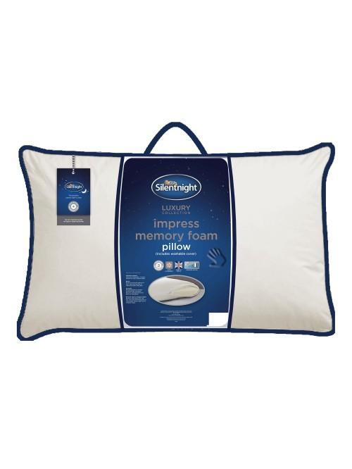Silentnight Memory Foam Impress Pillow