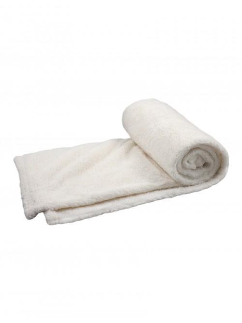 Snuggle Throw Cream