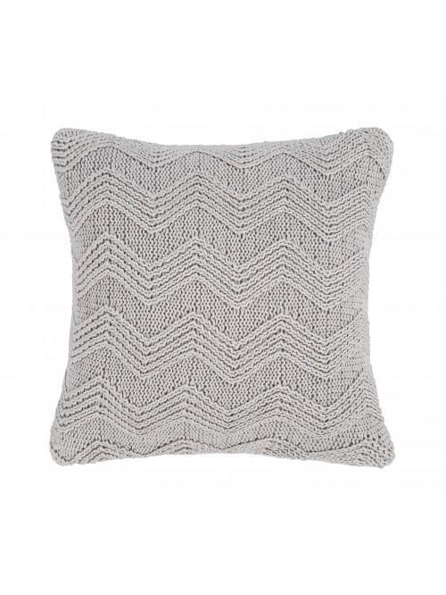Bianca Knit Cushion Grey