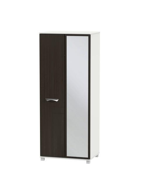 Atlas Mirror Wardrobe Graphite Klein