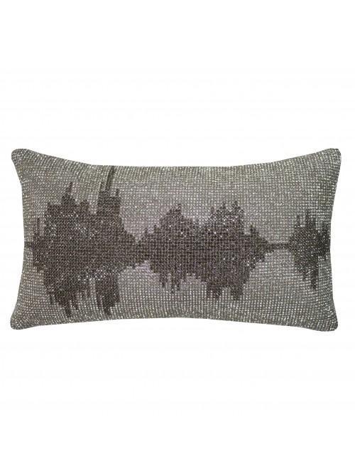 Kylie Minogue Soundwave Cushion Silver