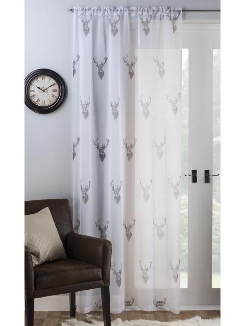 Stag Voile Panel Grey