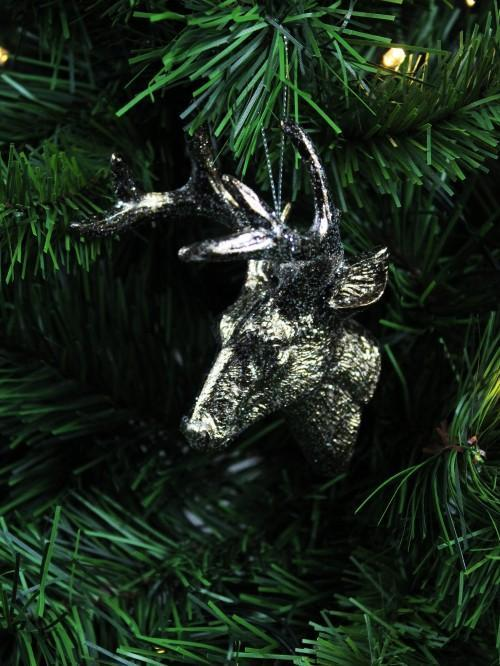 Stag Head Hanging Decoration