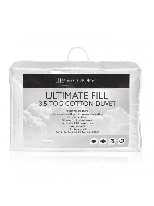 Ultimate Fill 13.5 Tog Cotton Duvet