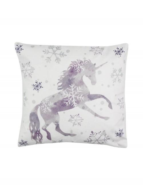 Unicorn Cushion Grey
