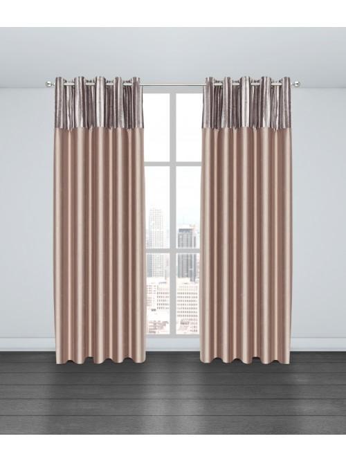 Valentina Eyelet Curtains Gold