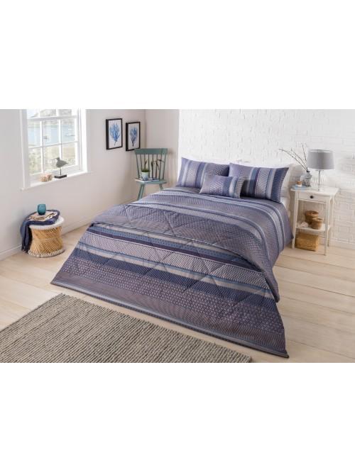 Varnava Jacquard Bedding Collection Blue