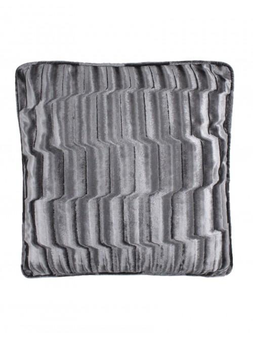 Hotel Luxe Veneto Feather Filled Cushion Silver
