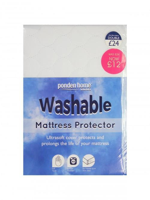 Washable Mattress Protection Range