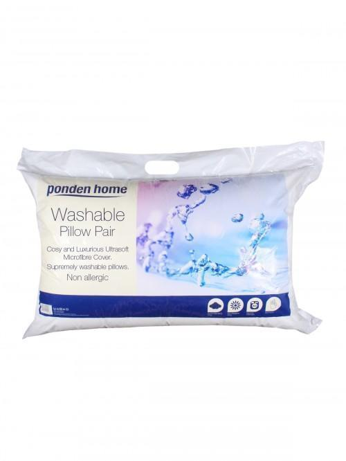 Washable Pillow Pair