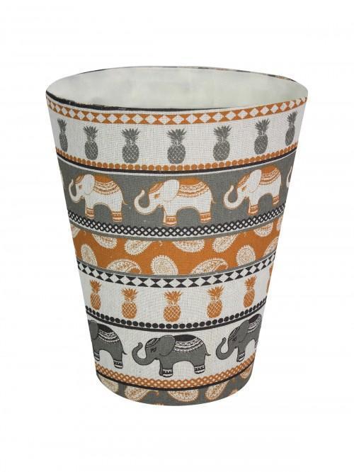 Elephant Waste Basket Natural