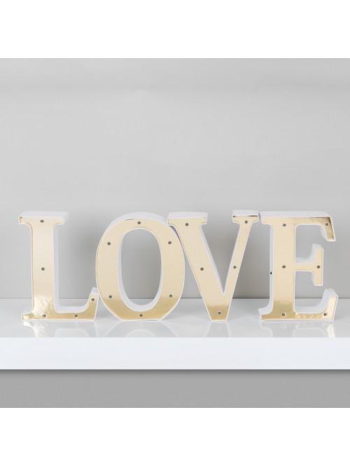 Love Story Light Up Letters L O V E