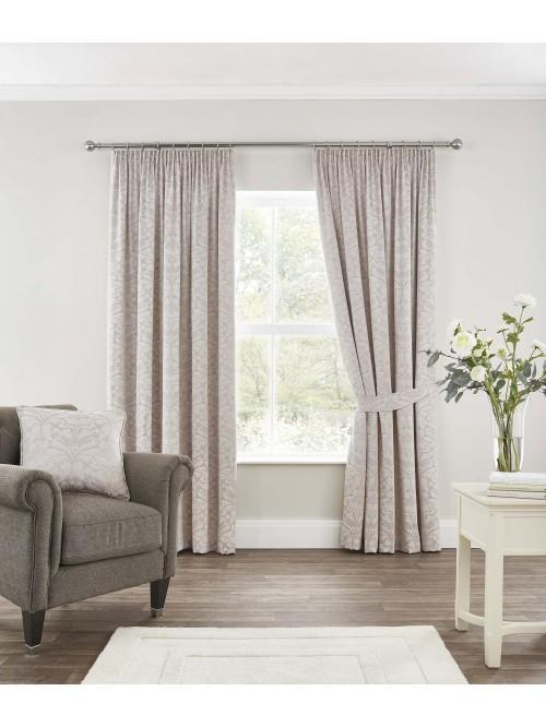 Windsor Pencil Pleat Curtains Natural