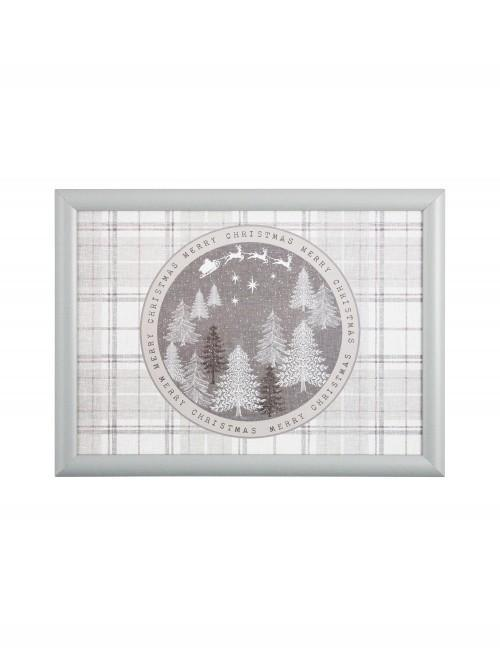 Winter Wonderland Lap Tray Grey