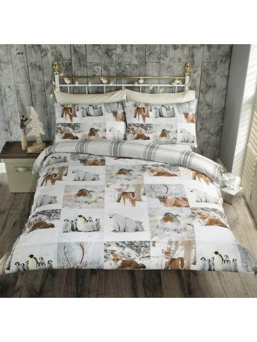 Winter Postcard Duvet Set