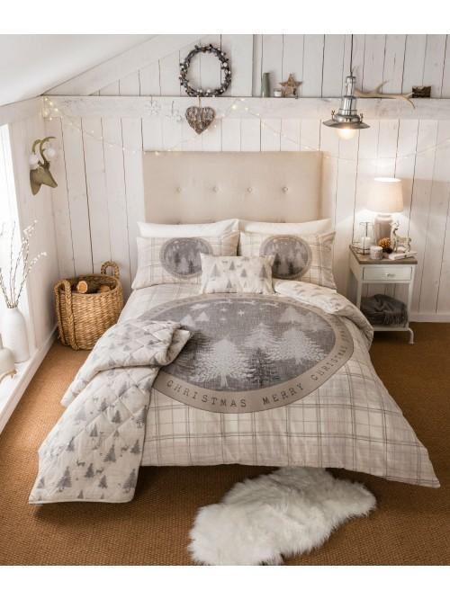 Winter Woodland 100% Cotton Bedding Collection Natural
