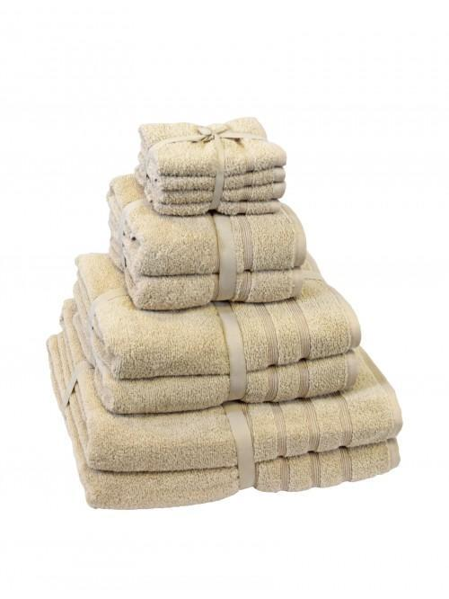 Hotel Collection Zero Twist Towels Latte
