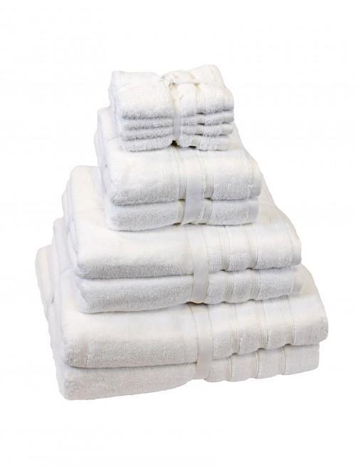 Hotel Collection Zero Twist Towels White